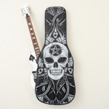 Skull Guitar Cases & Picks