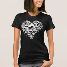 Ladies Skull T-Shirts