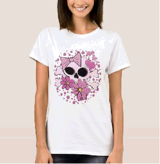 Girly Punk Skull